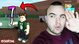 WE FOUND a MYSTERIOUS axe! (ROBLOX SURVIVAL WITH IMPERATORFX) EP. 4