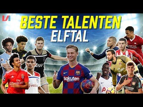 ELFTAL TOP TALENTEN: 'Toekomstige Ballon D'or Winnaars In 1 Team!'