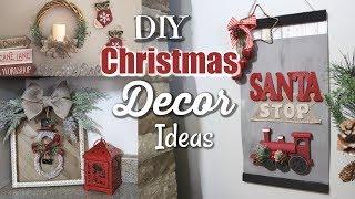 DIY Farmhouse Christmas Decor | DIY Christmas Decor 2018 | Krafts by Katelyn