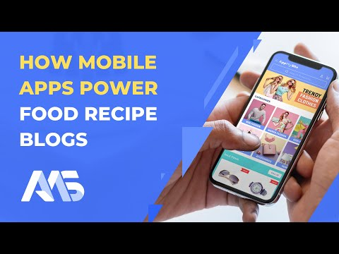 How to create mobile apps to power food recipes and make money | AppMySite Online App Creator