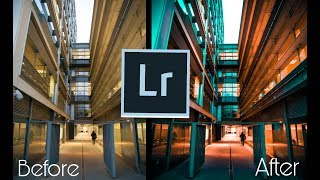 Tutorial Lightroom - Tone Urban #1 || Mobile
