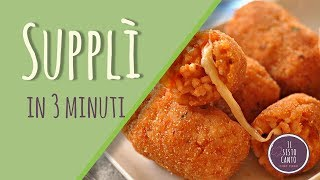 Supplì in 3 minuti - Chef Piero