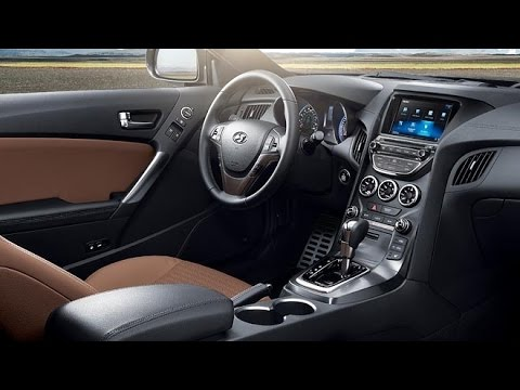 Hyundai 2015 Hyundai Genesis Coupe Interior Youtube