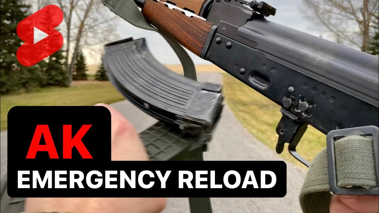 How to EMERGENCY RELOAD an AK #Shorts