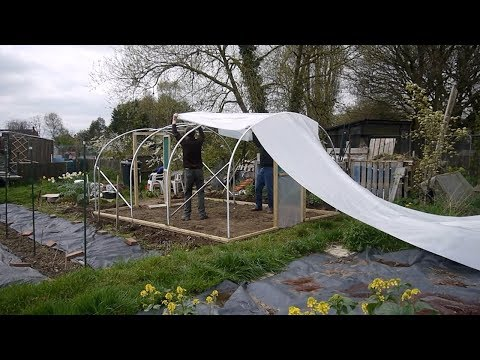 How to Build a Polytunnel - 2019 Update