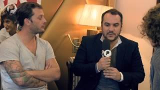"""François-Xavier Demaison, Nicolas Duvauchelle, Pierre Niney pour le film """"Comme des frères"""""""