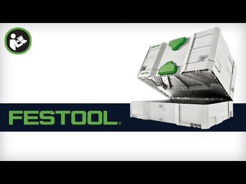FESTOOL Systainer SYS-STORAGEBOX 499901 pour Systainer Sortainer Classic T-LOC