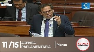 Sesión del Pleno 11/15 (14/08/19)