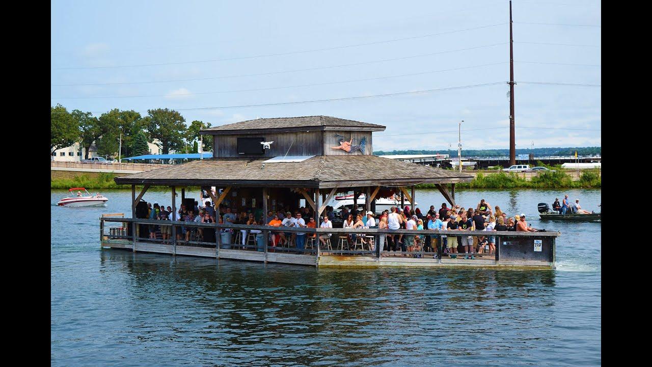 Shake the lake on the fish house cruise youtube for Lake okoboji fishing
