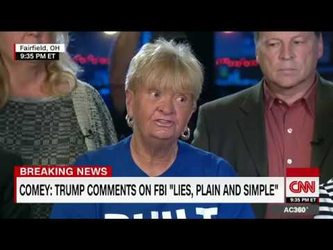 Trump voter Comey lied about Trump