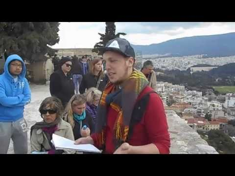 Ethan at Theater of Dionysus