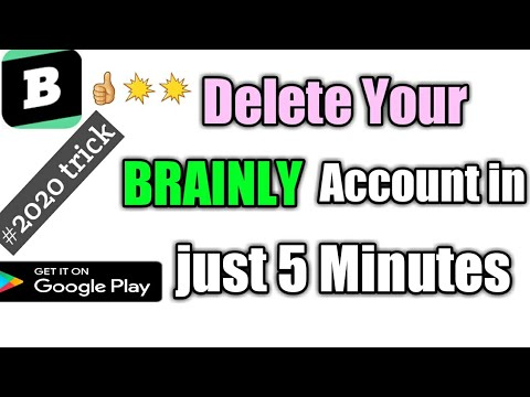 delete-your-brainly-account-in-just-5-minutes-||-brainly-account-deletion-||-brainly-users-||-2020