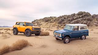 2021 Ford Bronco Fuel Economy and Power Specs