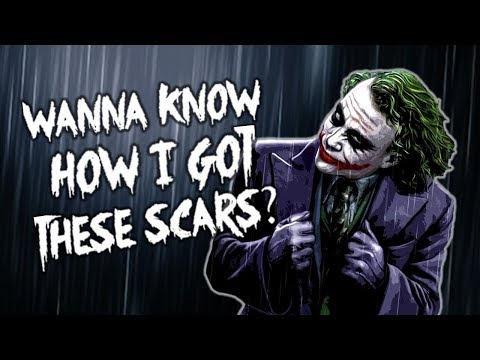 The Joker's Scars: Why three different stories? [ video essay l The Dark Knight l Batman ]
