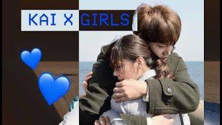 EXO KAI BEING SWEET WITH GIRLS