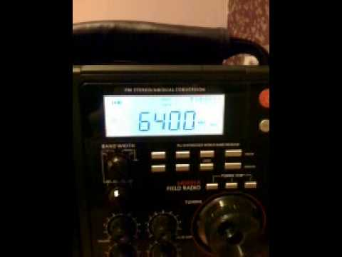 Shortwave pirate 6400khz relay of Fusion 90.2 FM