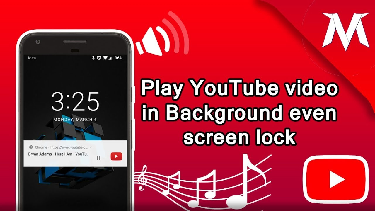 Play YouTube Videos in Background and even your screen off play Youtube  video