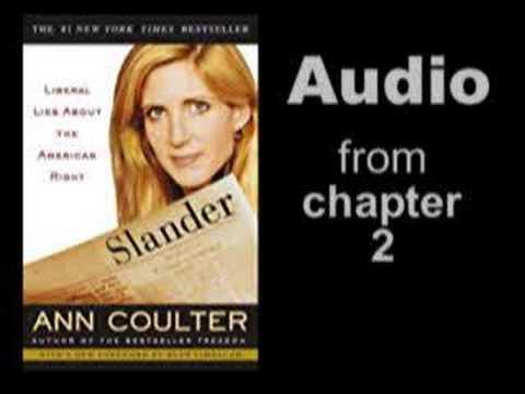 Al Franken lies about Coulters stance on education criticism
