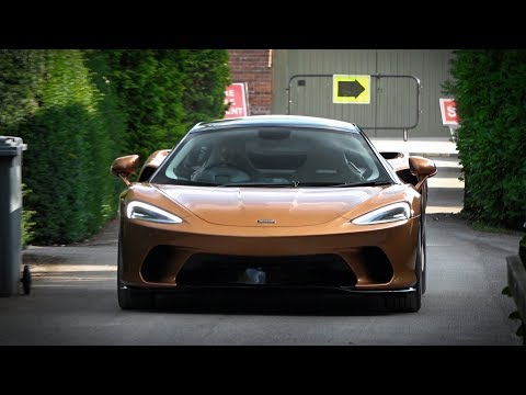 New McLaren GT - Loud acceleration sound and walkaround review
