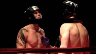 michael stoker vs. kirk richardson Jan 30, 2010 ISKA Kickboxing.wmv