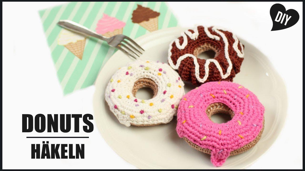 Donuts Häkeln Essen Häkelanleitung Amigurumi Diy By