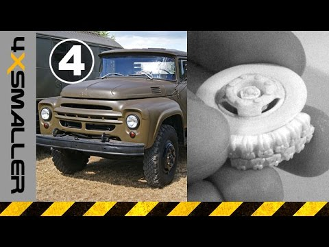 How to Make Wheels for ZIL-130 Soviet Military Truck in 1/35 Scale (Part  04) SBS