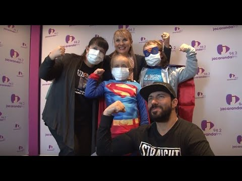 Good Morning Angels: 6-Year-old chemo warrior Melti Grobler has battled and beaten cancer twice