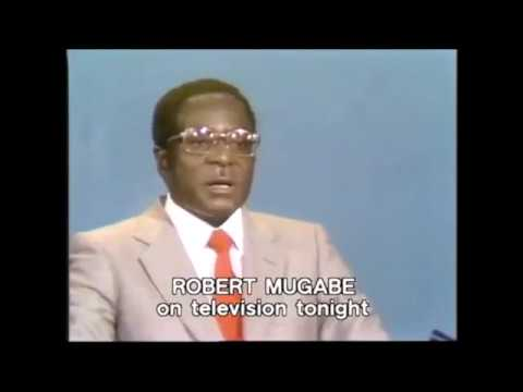 President Robert Mugabe's 1980 on Unity peace and a New Zimbabwe #myzimvision