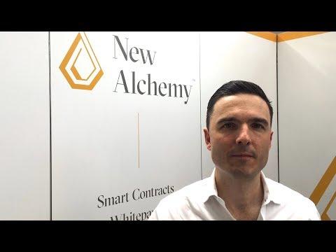 New Alchemy Interview - @newalchemy - Blockchain Expo Global 2018 London