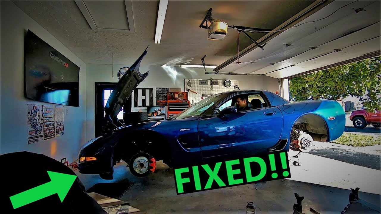 C5 Z06 Corvette FINALLY Gets Fixed - Rear Main Seal, Torque Tube, and Quick  Test Drive
