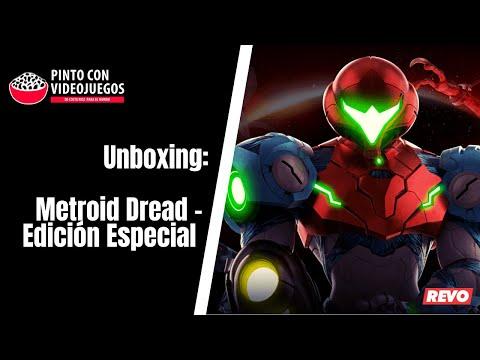 ¡UNBOXING! Edición Especial Metroid Dread (NSW)