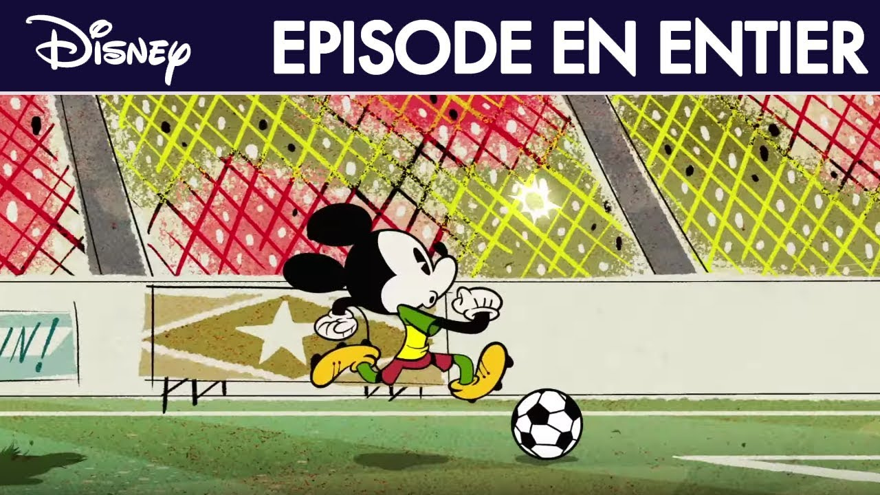 mickey mouse le match de football episode intgral exclusivit disney