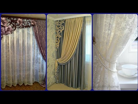 50+ Beautiful Curtain Ideas For Living Room || Simple Curtains || Floral Curtains