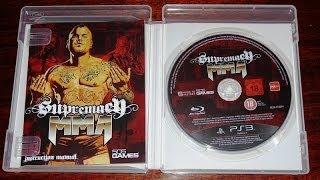 Игра Supremacy MMA на Sony PS3