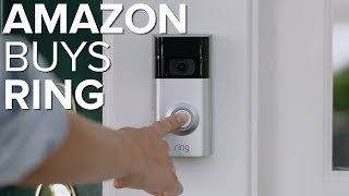 Amazon to acquire Ring (CNET News)
