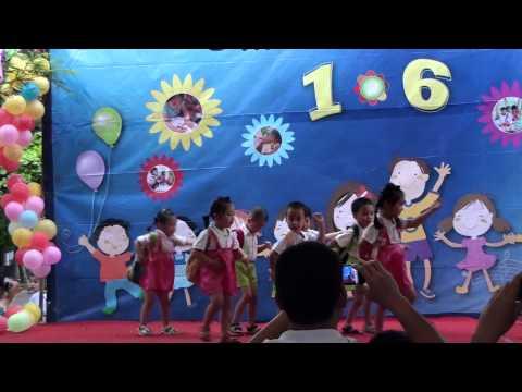 Múa hát: Em yêu trường em - Mầm non Việt Pháp