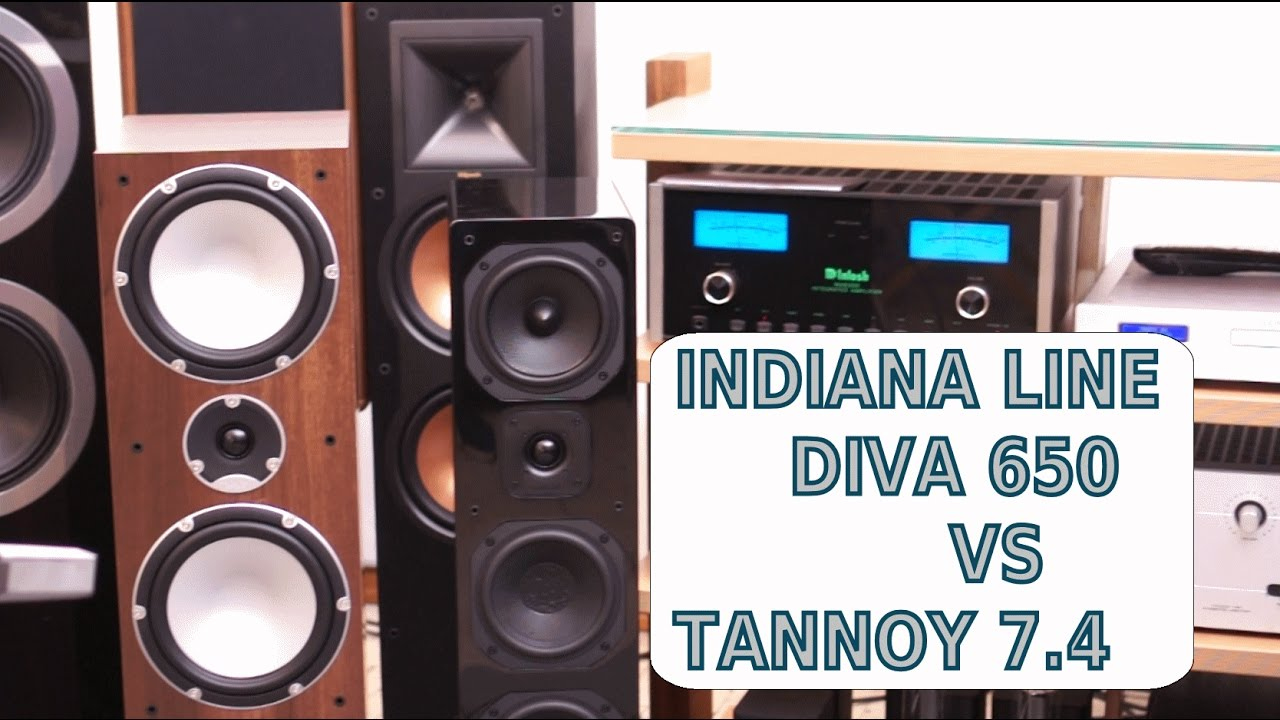 Indiana line diva 650 vs tannoy 7 4 test audio di sbisa - Indiana line diva 252 test ...