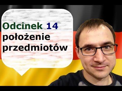 Niemiecki w parę minut 14 - położenie przedmiotów - Dativ - gerlic.pl