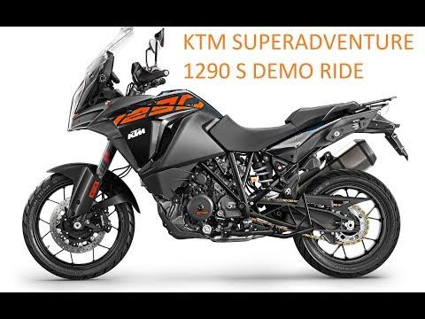 KTM Superadventure S demo ride