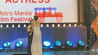 Jasmine Curtis-Smith wins Best Supporting Actress for Siargao at MMFF 2017 Awards Night