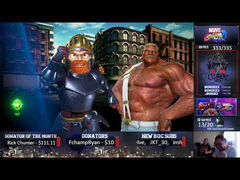 Bum vs PG Coach Steve Final PT  in Marvel vs Capcom Infinite Day 2
