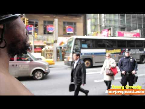 Mr Pregnant Vs The NYPD Police