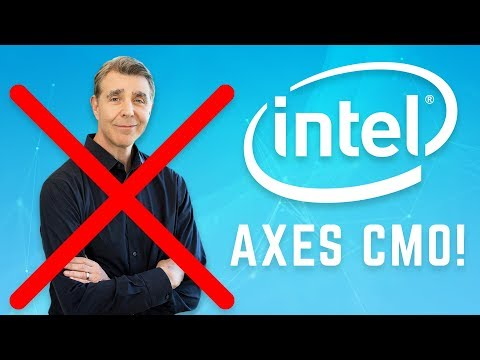 Intel Chief Marketing Officer Ousted