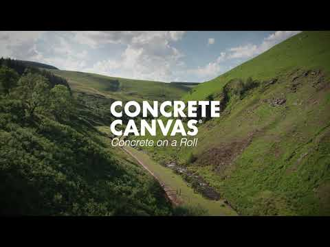 Concrete Canvas® - The innovative GCCM technology made in the UK