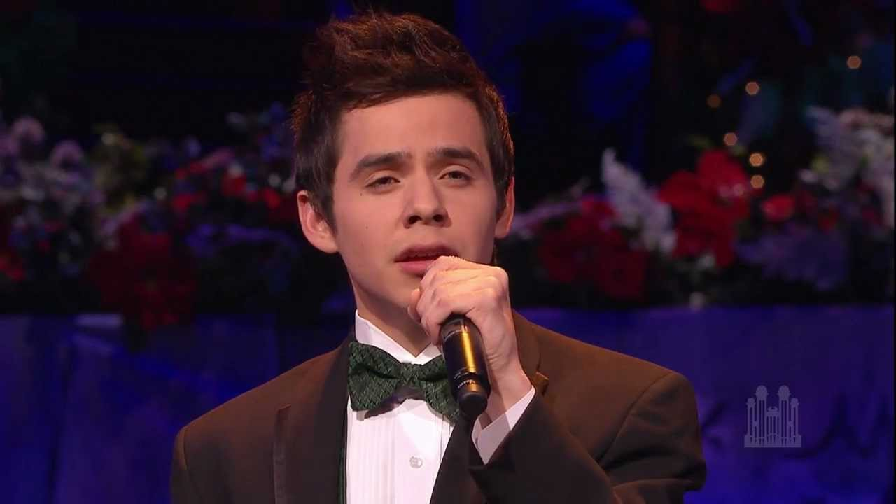 Silent Night - David Archuleta and Mormon Tabernacle Choir - YouTube