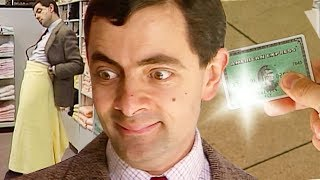 Shopping Spree | Funny Clips | Mr Bean Official