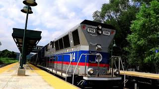 Metro-North M-7A PTC Transfer + Amtrak at Spuyten Duyvil, NY RR