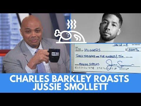 Charles Barkley Roasts Jussie Smollett (Full Unseen Video)