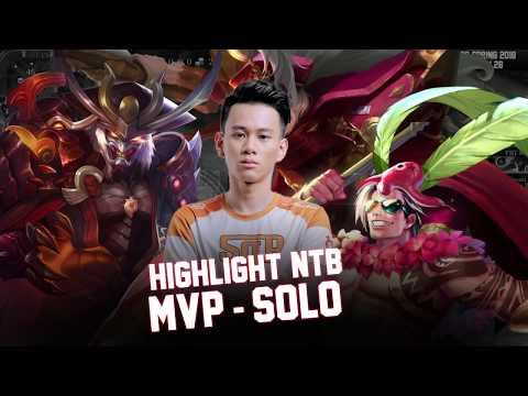 Highlight NTB - Tuyển thủ Solo Đường Kinh Kong hay nhất ĐTDV Mùa Xuân 2018 - Garena Liên Quân Mobile