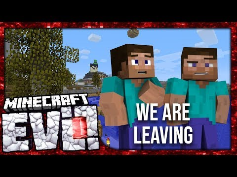 WE ARE LEAVING - Minecraft Evolution SMP #50